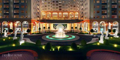 Căn hộ full nội thất, Dream Home Palace 51m² 2PN