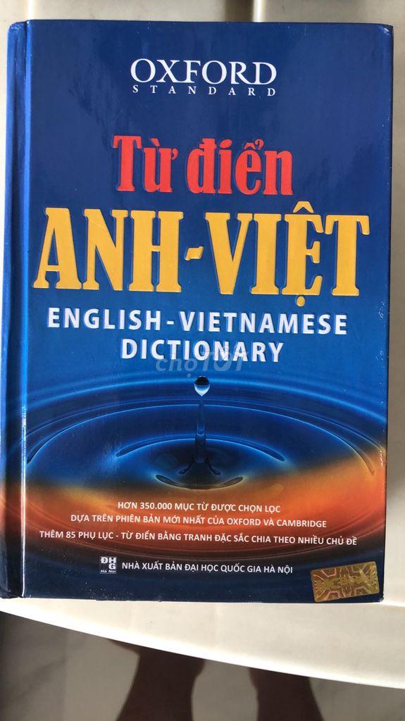Từ điển Anh-Việt
