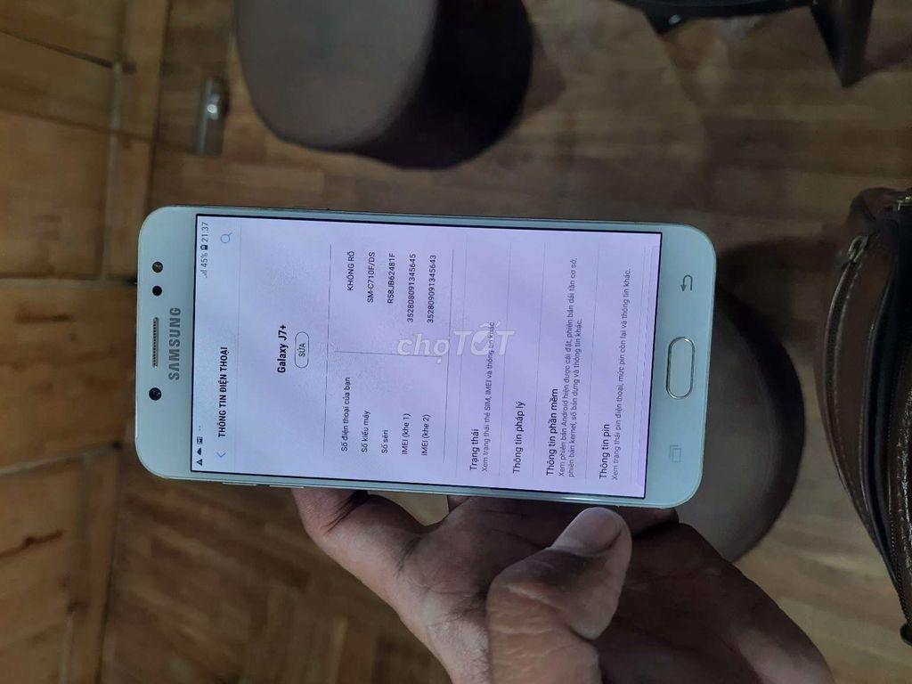 0987989297 - Samsung Galaxy J7 Plus Vàng 32 GB.Bao xài