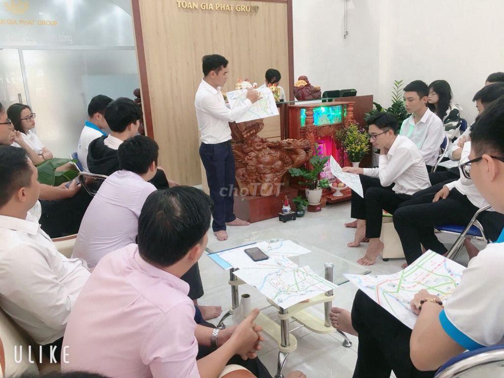 0906723734 - Tuyển 10 NVKD Bán Đất Nền & Nhà Phố Hoa Hồng Cao