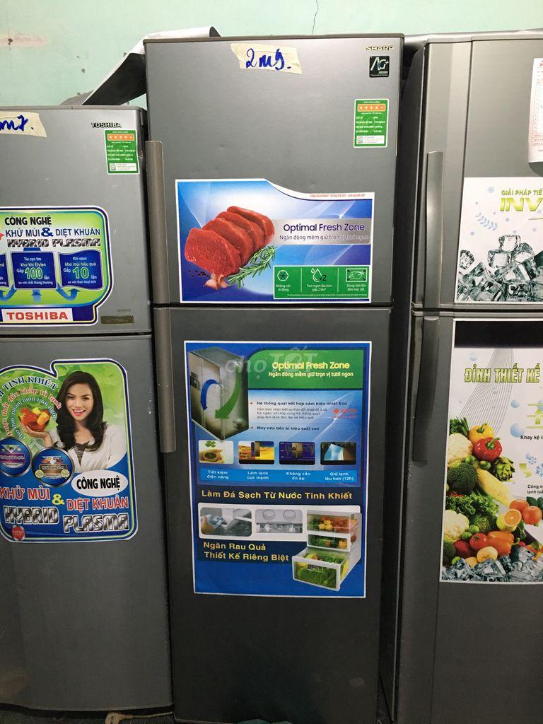 tủ lạnh 290L hiệu sharp