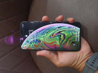 Máy iPhone XS Max Đen 64gb có gl giao lưu