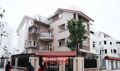 Cần bán biệt thự gần hồ -Thành phố Giao Lưu 209m²