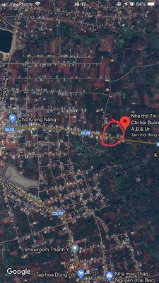 Bán đất thổ cư thị trấn huyện Krông năng