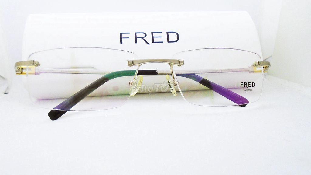 0942146888 - Gọng kính Fred mạ vàng hàng chính hãng
