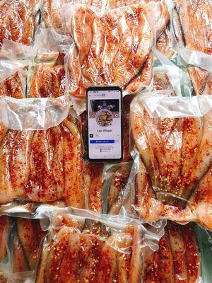 Khô cá lóc 3 nắng tươi ngon đặc sản Ang Giang