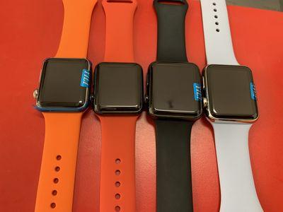 Apple Watch Series 1 Thép   Có Trả Góp