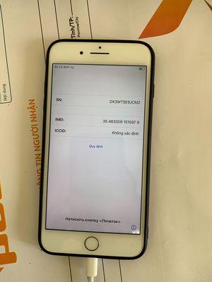 Apple iPhone 8 plus vàng hồng