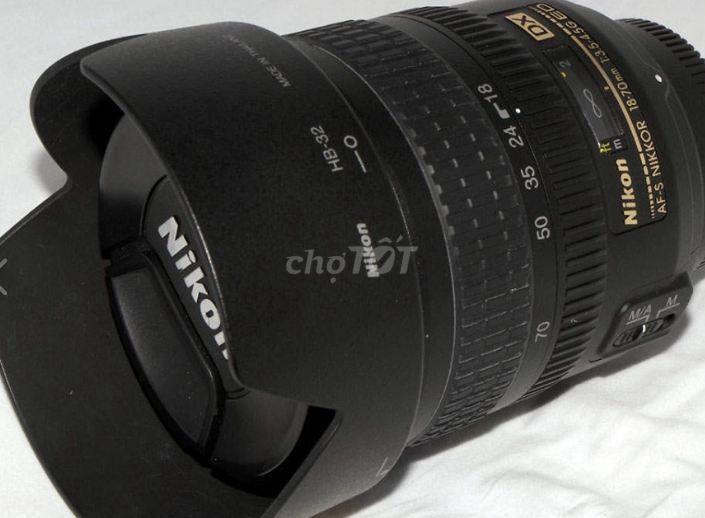 Cần bán lense kit 18-70