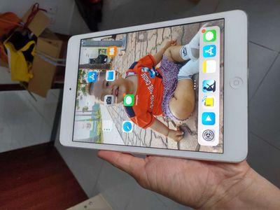 Ipad mini 2 wifi + 4G trắng ít dùng