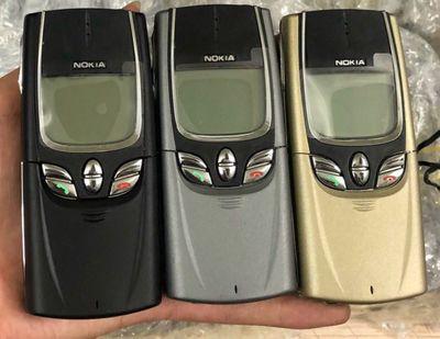 điện thoại Nokia 8850 vỏ nhôm nắp trượt cổ điển