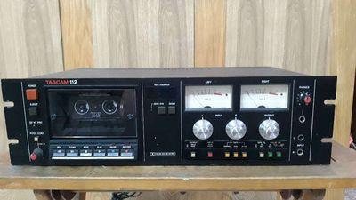 Cassette Tape Tascam 112
