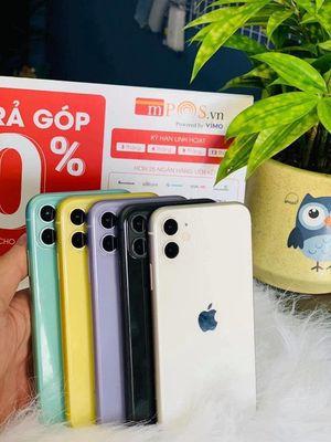 IPHONE 11 64GB LOCK ĐỦ MÀU/TRẢ GÓP ( Big Phone )