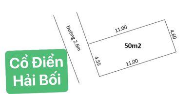 Bán 50m2 đất Cổ Điển ,Hải Bối ,Đông Anh ,Hà Nội