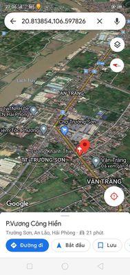 Đất gần chợ Trường Sơn An Lão 110m2