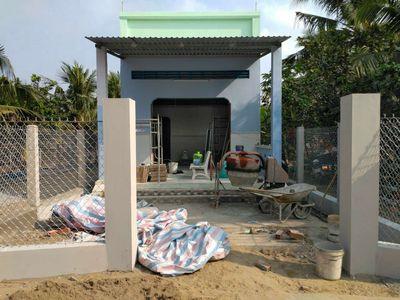 Nhà mới xây, Quoi Sơn, Gần KCN Giao Long, Bến Tre