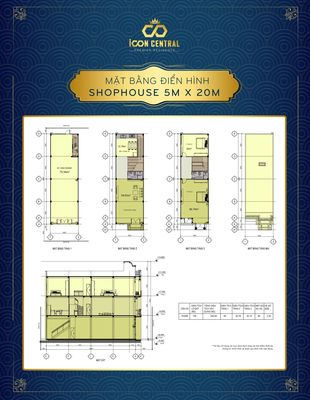Shophouse Thị xã Dĩ An 276m²