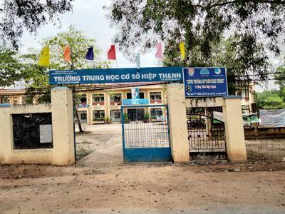 Đất gần trường THCS Hiệp Thạnh,Tây Ninh,giá 260TR.