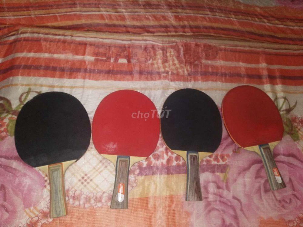 4 vợt bóng bàn