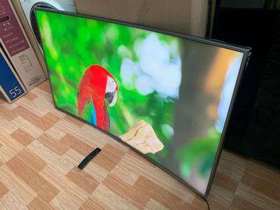 Tivi 55inch SmartTV 4K Cong Samsung 55NU7500 99%