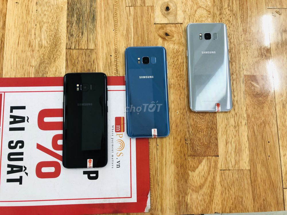 Samsung S8 Quốc Tế 2 Sim mới 99,99% tại 2C MOBILE