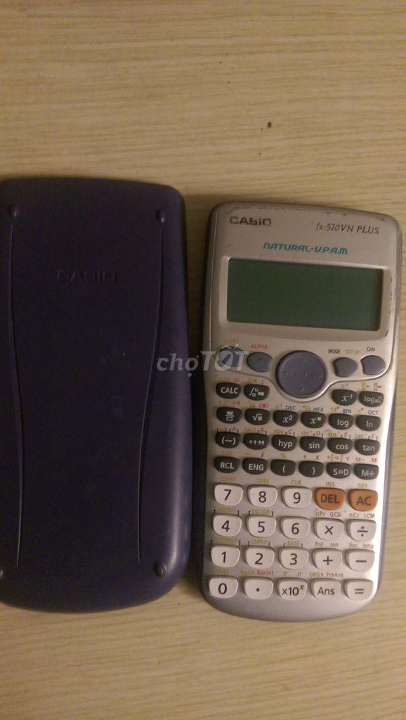 Máy tính Casio fx570 VN Plus cũ (80%)