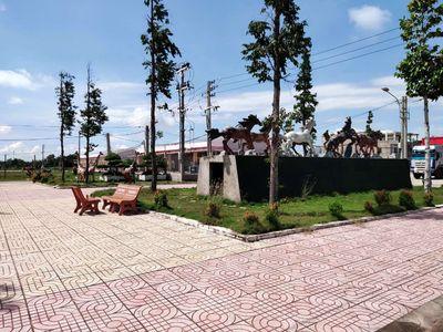 Đất Thạnh Phú 120m2 full thổ cư đối diện HD bank