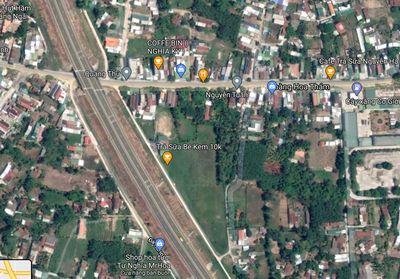 Đất 1222m² mặt tiền đường Cao Tốc ĐN Quảng Ngãi