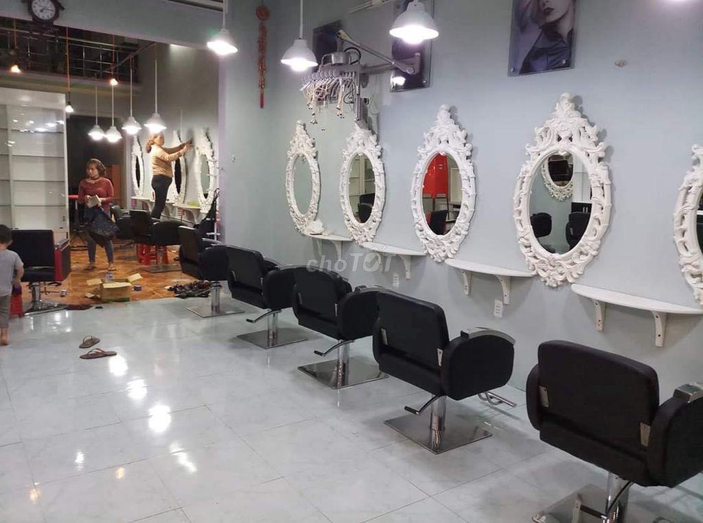 6 bộ ghế gương salon tóc