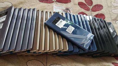 QUÀ TẾT 🎆 Galaxy Note 8 New 99% Full Pk Box Bh9T