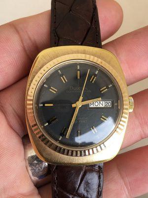 Bulova 333 Automatic swiss Heavy Gold