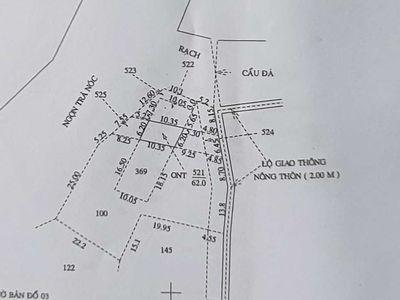 Bán 175m có 62m thổ cư cách 91b 1km