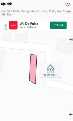 Đất Thành phố Phan Thiết 109.4m² - Giá rẻ như cho.