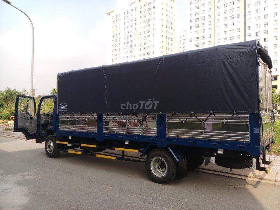 Xe faw 7 tấn thùng 6.2 mét máy hyundai