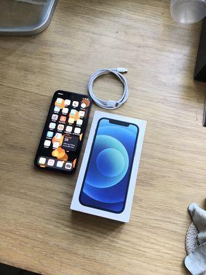 Iphone 12 Blue đẹp nguyên zin fullbox bán tại nhà
