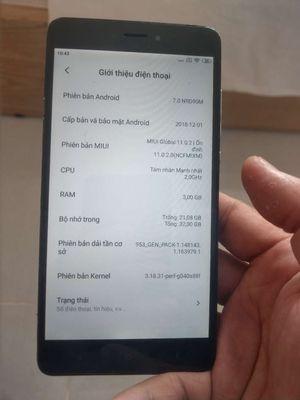 Xiaomi Note 4X chống cháy(pin phồng)