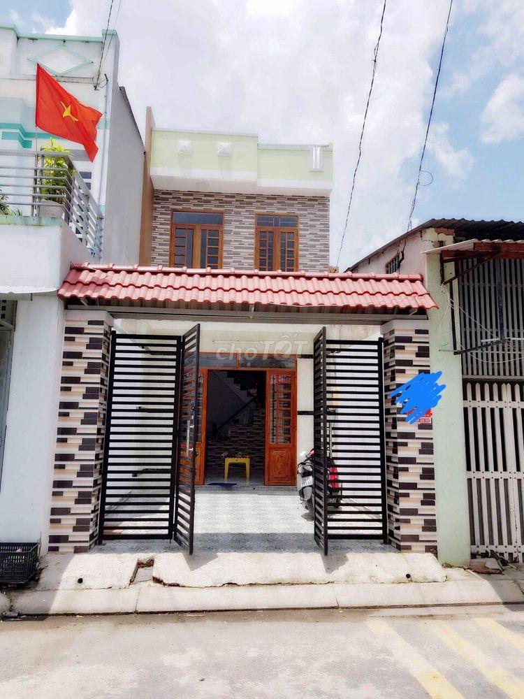 Bán nhà mới xây đường TRẦN VĂN MƯỜI-dt 91m2, SHR