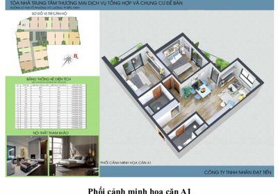 Bán căn hộ chung cư trung tâm thành phố Bắc Ninh