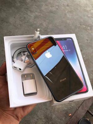 iPhone X đen 64gb quốc tế zin còn Bh TGDĐ 5 tháng
