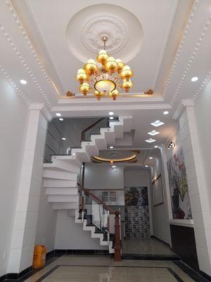 Nhà mới 4T 196m2 đường Liên Khu 4-5, BHHB.B,Tân