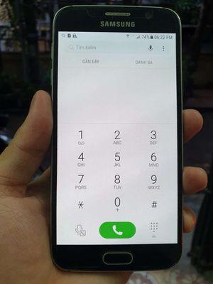 Samsung Galaxy S6 Xanh dương