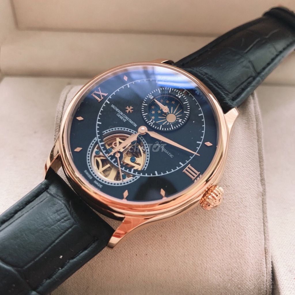Đồng hồ Vacheron cơ 2 vòng