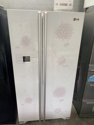 tủ lạnh 2 cánh side by side dòng 578 lít hãng LG
