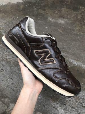Giày 2hand real New Balance 364 nâu da size 42.5