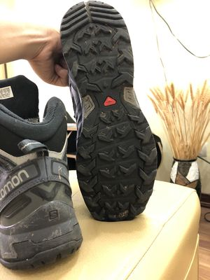 Giày leo núi Salomon Ultra X Mid đen size 9.5