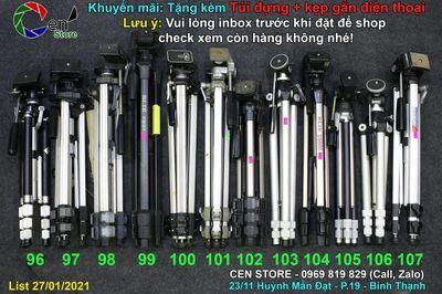 Chân máy ảnh nội địa Nhật Full Kim Loại siêu bền