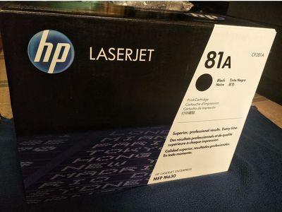 Hộp mực in laser HP 81A (CF281A)