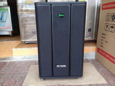 Dàn karaoke di động acnos EB40G thùng gỗ