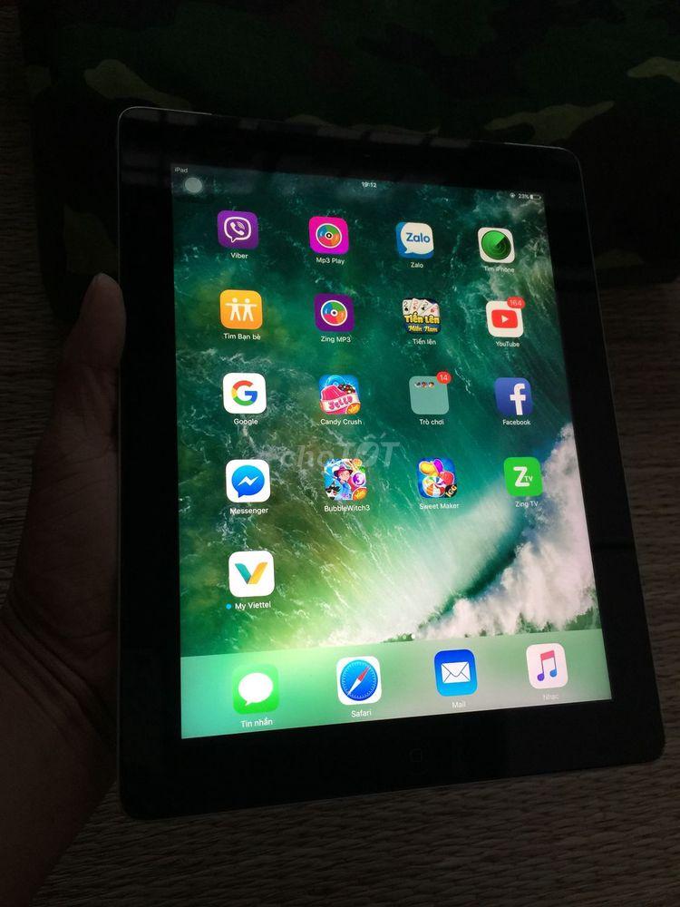Ipad4 wifi +3G máy zin đẹp.