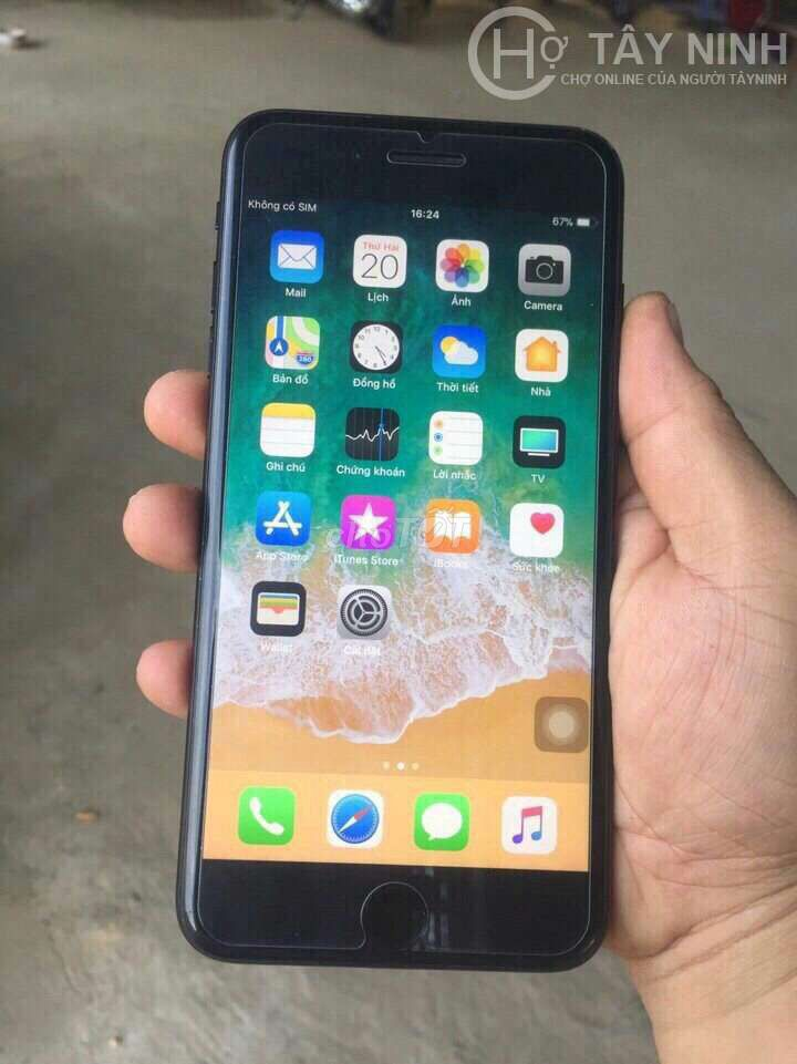 0817987496 - Iphone 7 plus màu đen 128g nguyên zin 100% nữ sd